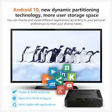 X96q android 10.0 smart TV Box allwinner h313 quad core 2gb 16gb 4k 3d netflix  android 10 x96 q mini set top box media player|Set-top Boxes