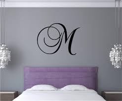 Custom Personalized Monogram Letter Vinyl Decal Wall Stickers Letters Words Teen Room Decor Gift
