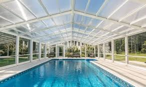 Pool Enclosure By Roll A Cover Intl Archello