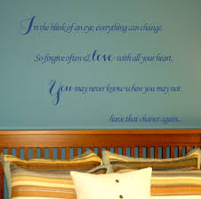 In The Blink Of An Eye Wall Decal Trading Phrases