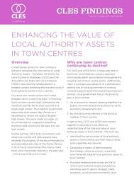 local authority ets in town centres