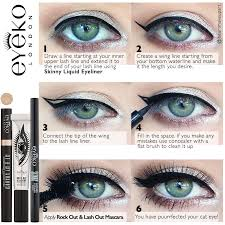 the perfect cat eye eyeko