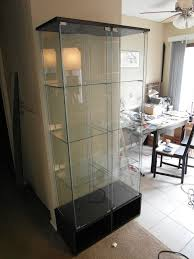 detolf glass door cabinet modify