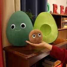 Big Discount 8f5ba8 Funny Avocado Plush Toys Stuffed Fruit Avocado Pillow Kids Toys Birthday Christmas Gift For Boy Girls Kids Home Decor Cicig Co