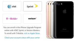 iphone 7 models from at t and t mobile