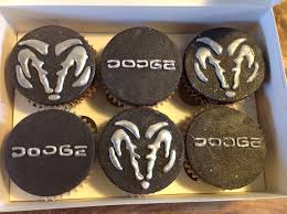 Dodge Charger Cupcakes Moist Chocolate Sponge Topped With