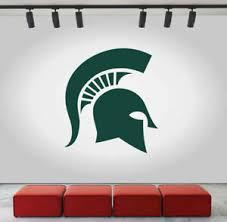Spartan Wall Decal Michigan State University Logo Ncaa Vinyl Color Sticker Cg627 Ebay
