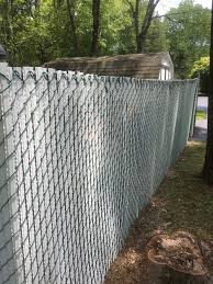 Wing Slats For Chain Link Privacy Fences