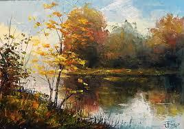Barvy podzimu, impasto - Jiri Petr