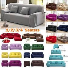 sofa cover 1 4 seaters fashion recliner