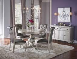 Hefner Silver 5 Pc Dining Set Badcock Home Furniture More