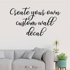 Design Your Own Wall Sticker Decal Quote Picture Art Uk Vinyl Creating Vamosrayos