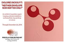 "Priscilla Fowler on Twitter: ""The work of Dolores Bossuyt: ""NEITHER  ENVELOPE NOR MATTER ONLY"" is on display until December 26, 2018.  @atelierdedolores #artgallery #contemporaryart #modernart #abstractart  #buyart #artislife #artist #handmade #oneofakind ..."