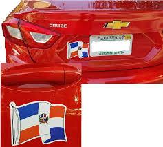 Car Truck Decals Stickers Dominican Republic Flag Vinyl Decal Bumper Sticker 2 Pack Car Truck Van Window Magazine Oceanomedicina Com