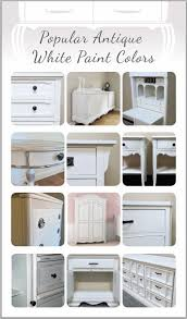 popular antique white paint colors for