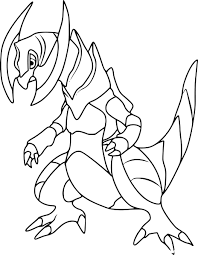 Kleurplaat Pokemon Dragonite