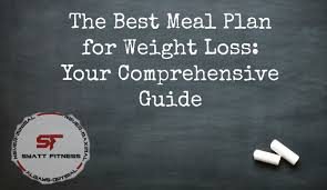 the best meal plan for weight loss