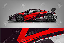 Car Decal Wrap Design Vector Graphic Abstract Stripe Racing Royalty Free Cliparts Vectors And Stock Illustration Image 121556782