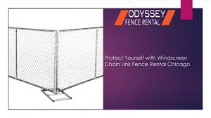 Protect Yourself With Windscreen Chain Link Fence Rental Chicago By Fencerentalchicago Issuu