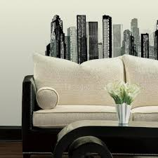 Cityscape Giant Wall Decal Roommates Decor