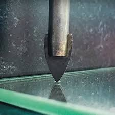 how to drill a hole in glass the home
