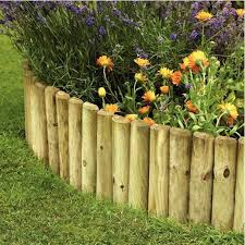10 garden edging ideas with wood for an