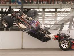 Stan Fox's horrid crash at Indy in 1995. That he survived is ...