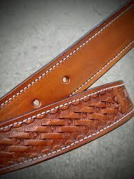 custom leather belt cowgirl gift cowboy