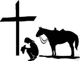 Cowgirl Cowboy Kneeling At Cross Dog Heaven Cowboy And Cowgirl Christian Car Decals Window Stickers