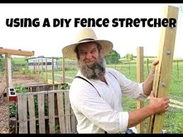 How To Pull Fence With A Diy Fence Puller Youtube