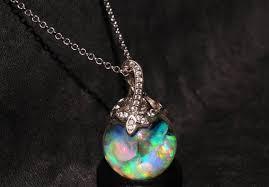 australian opal floating opal jewelry