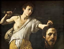 Davide con la testa di Golia (Caravaggio Vienna) - Wikipedia