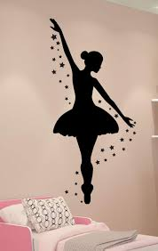 Amazon Com Ballerina Wall Decal Dance Wall Decor Personalized Decal Girls Room Decor Ballet Decor Ballerina Decor Handmade