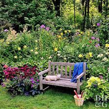 garden plan for partial shade better