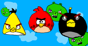 angry birds drawing by me : angrybirds