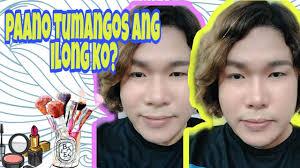 pano magpatangos ng ilong make up