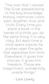 quotes illuminating quotes by author lois lowry books