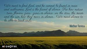 mother teresa quotes about nature a z quotes