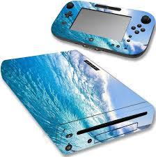 Vwaq Wii U Console Ocean Skin Nintendo Wii U Water Decal Sticker Cover