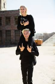 Lucky Blue Smith, Pyper America Smith Model Siblings Calvin Klein Jeans |  Vogue