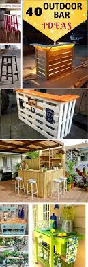 40 diy outdoor bar ideas inexpensive