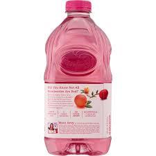 ocean spray pink lite cranberry juice