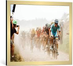 Amazon.com: Art Print/Poster: Carlo Beretta Cycling in The dust ...