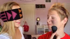 fun bridal shower games blindfold makeup