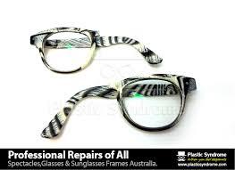 how to repair broken glasses bridge