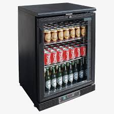single glass door bar fridge dl815 a