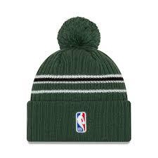 Berretto di maglia Milwaukee Bucks Back Half verde