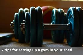 gym in your shed