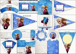 Cumpleanos De Frozen Imprimibles Gratis Para Fiestas Ideas Y