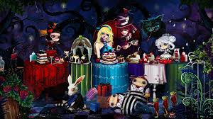 gothic alice in wonderland wallpapers